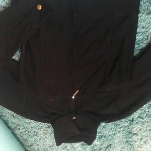 Nike Jackets & Coats - Nike Dri-Fit Black Zip-Up Jacket